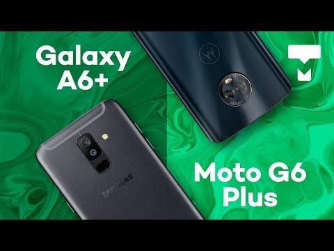 Samsung Galaxy A6+ vs. Moto G6 Plus - TecMundo