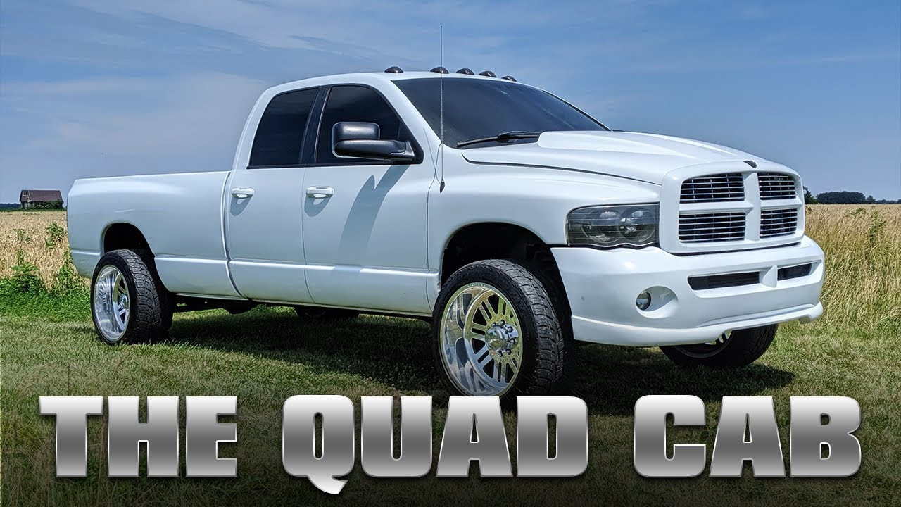 10 SECOND TOW TRUCK, RACE TRUCK, AND DAILY DRIVER - THE QUAD CAB
