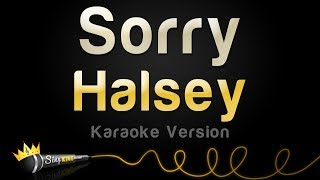 Halsey - Sorry (Karaoke Version)