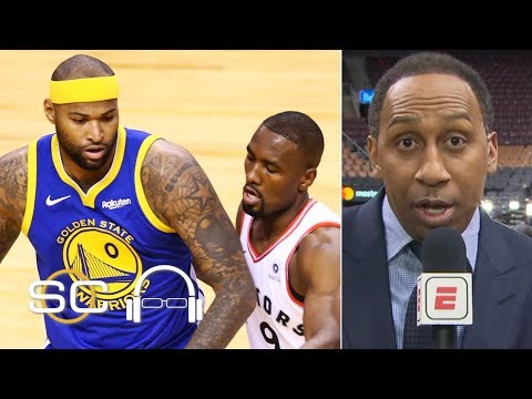 'DeMarcus Cousins was the MVP of the game' – Stephen A. | 2019 NBA Finals | SC with SVP