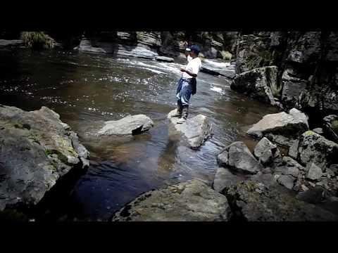 pesca de truchas en Soras Sucre Ayacucho