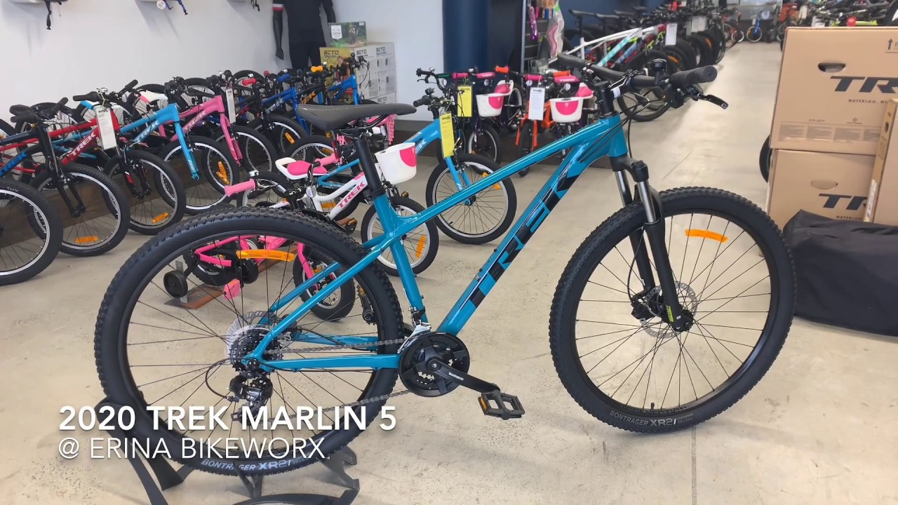 Trek 2020 Marlin 5 At Erina Bikeworx Youtube