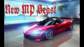 Asphalt 8 - McLaren 720S Multiplayer Max 0-5-0-4, Pro 5-0-5-0, Rank:1585