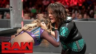 Alicia Fox vs. Nia Jax: Raw, September 12, 2016