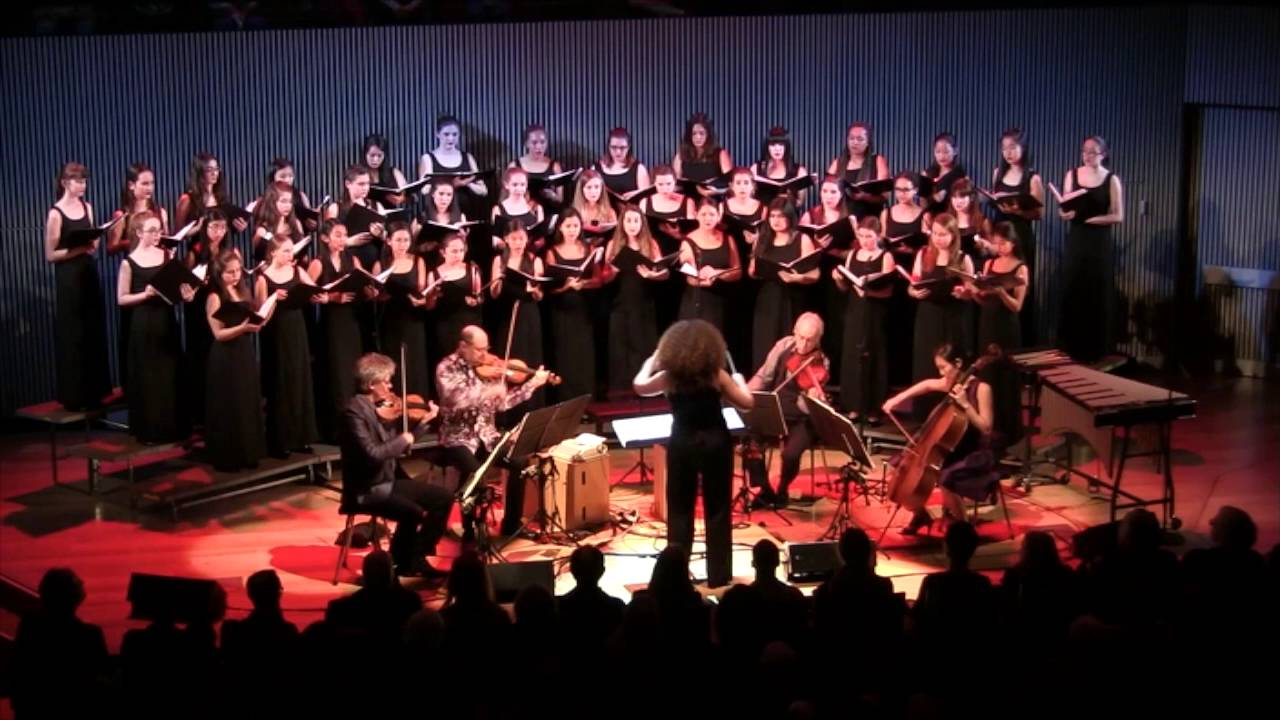 Sound Only Sound Remains (2015) - Sahba Aminikia - Kronos Quartet and San Francisco Girls Chorus