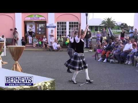 Bermuda Islands Pipe Band and Highland Dancers, Nov 3 2013