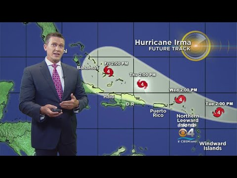 Irma On The Move; Hurricane Watch Issued For Parts Of Leeward Islands