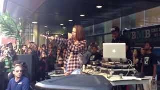 JoJo Performing Too Little Too Late at Baruch College