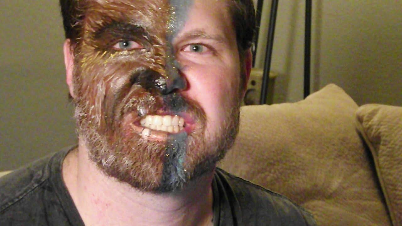 beast face paint