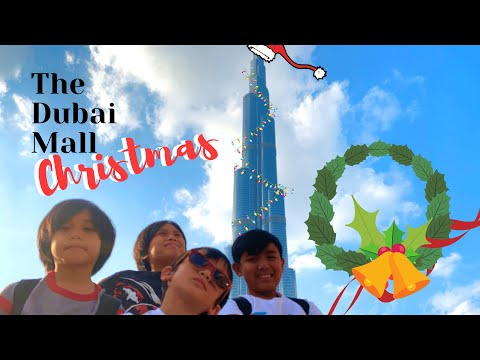 Best of Dubai: THE DUBAI MALL CHRISTMAS