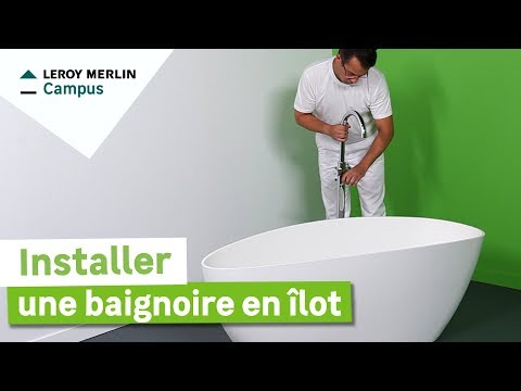 Comment Poser Un Robinet Et Un Raccordement Sur Le Tuyau D Arrivee D Eau Leroy Merlin Youtube