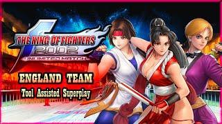 【TAS】KOF 2002 UNLIMITED MATCH (PS2) - WOMEN FIGHTERS TEAM (MAI SHIRANUI | KING | YURI SAKAZAKI)