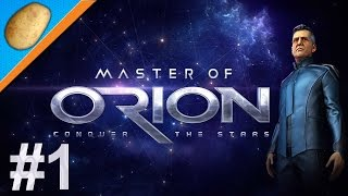 Master of Orion [New] Gameplay PC -  Let's Play PART #1 - Humans