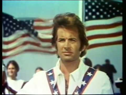 "1971 Movie ""Evel Knievel"" with the FoHi Band and Drill Team Segment"