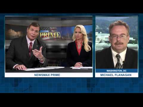 Newsmax Prime | Michael Flanagan and Morgan Thompson