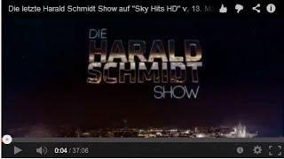 """Die letzte Harald Schmidt Show auf """"Sky Hits HD"""" v. 13. Mär. 2014"""