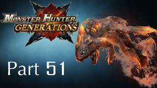 Monster Hunter Generations -- Part 51: Lavasioth - The Lava Wyvern