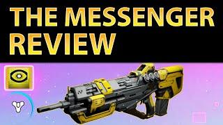 Planet Destiny: The Messenger Legendary Pulse Rifle Review