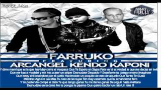 WebCam - Farruko Ft  Arcangel Kendo Kaponi (Official Remix)(Prod  By DJ Luian, Lil Wizard)(Lirycs) thumbnail
