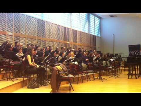 Coro Intermezzo. Ensayo Roméo Et Juliette (6)
