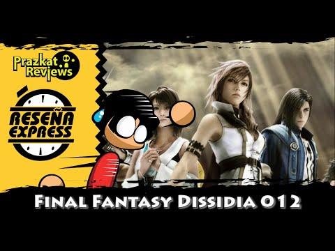 Final Fantasy Dissidia 012 (Duodecim) - Reseñas Express #MesDeFinalFantasy