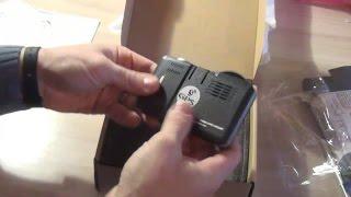 видео Видеорегистратором и радар