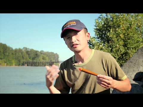 how to set up float fishing