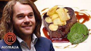 Chef Shannon Bennett's Fillet of Beef Pressure Test   MasterChef Australia   MasterChef World