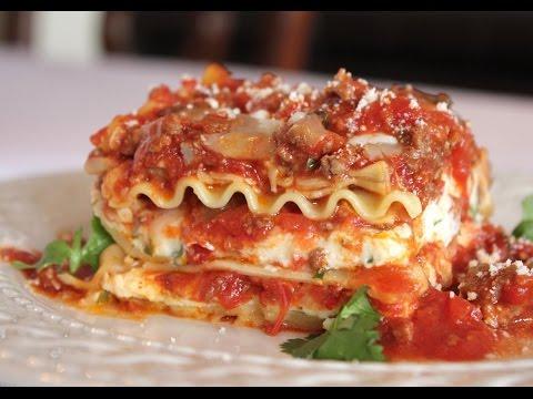 Como hacer Lasagna facil y sencilla