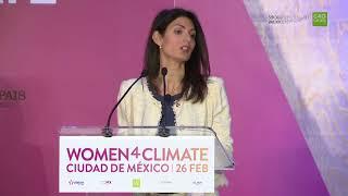 Women4Climate 2018 - Mayor of Rome Virginia Raggi