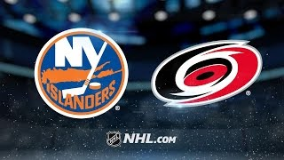 Clutterbuck, Isles top Canes in OT, 4-3