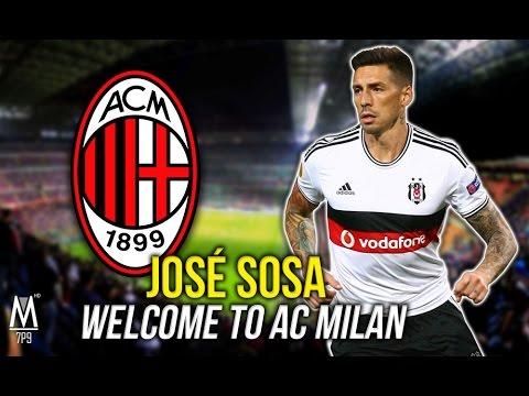 José SOSA - Welcome to AC MILAN / All Goals & Skills