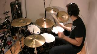 Deep Purple - Burn - Drum cover (With exact studio fills) - Best Version