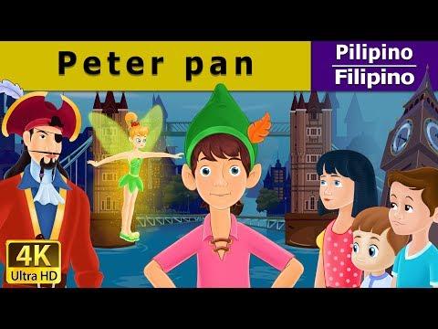 Si Peter Pan - Kwentong Pambata - Pambatang Kwento - 4K UHD - Filipino Fairy Tales