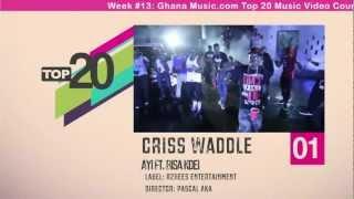 Top 20 Ghana Music Video Countdown - Week #13, 2013.