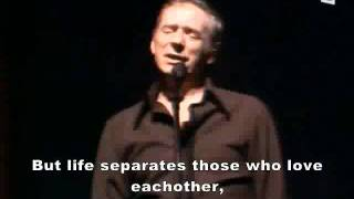 Les Feuilles Mortes - Yves Montand (English Subtitle)