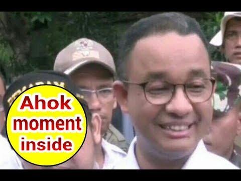 Pake fitn4h Ahok segala waktu kampanye, akhirnya Anies bakal gu$ur warga Jati Padang penyebab banjir