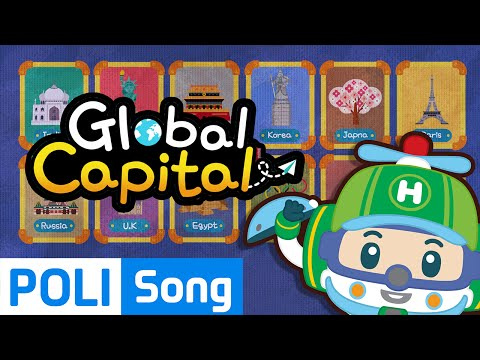 04.Global Capital (English) | Travel around the globe with Poli