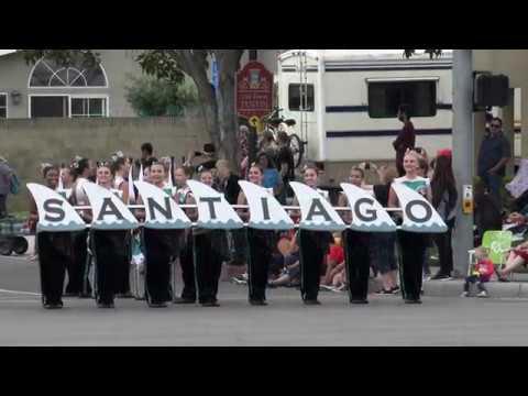 Santiago HS (Corona) - The Stars and Stripes Forever - 2018 Tustin Tiller Days Parade