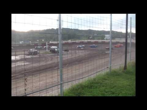 8.22.15---peoria Speedway----Street stock Heat Race