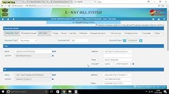 HOW TO GENERATE E WAY BILL(DETAILED)