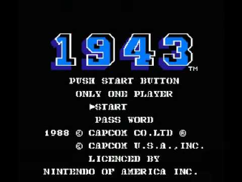 1943 - The Battle of Midway (NES) Music - Mission Theme 01