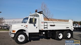2000 International 4900 10-12 Yard Dump Truck for sale