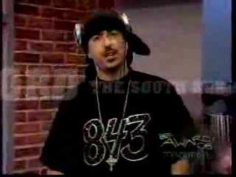 DJ B-LORD REPS SOUTH KAK ON TV