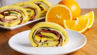Loaded Egg Breakfast Roll thumbnail