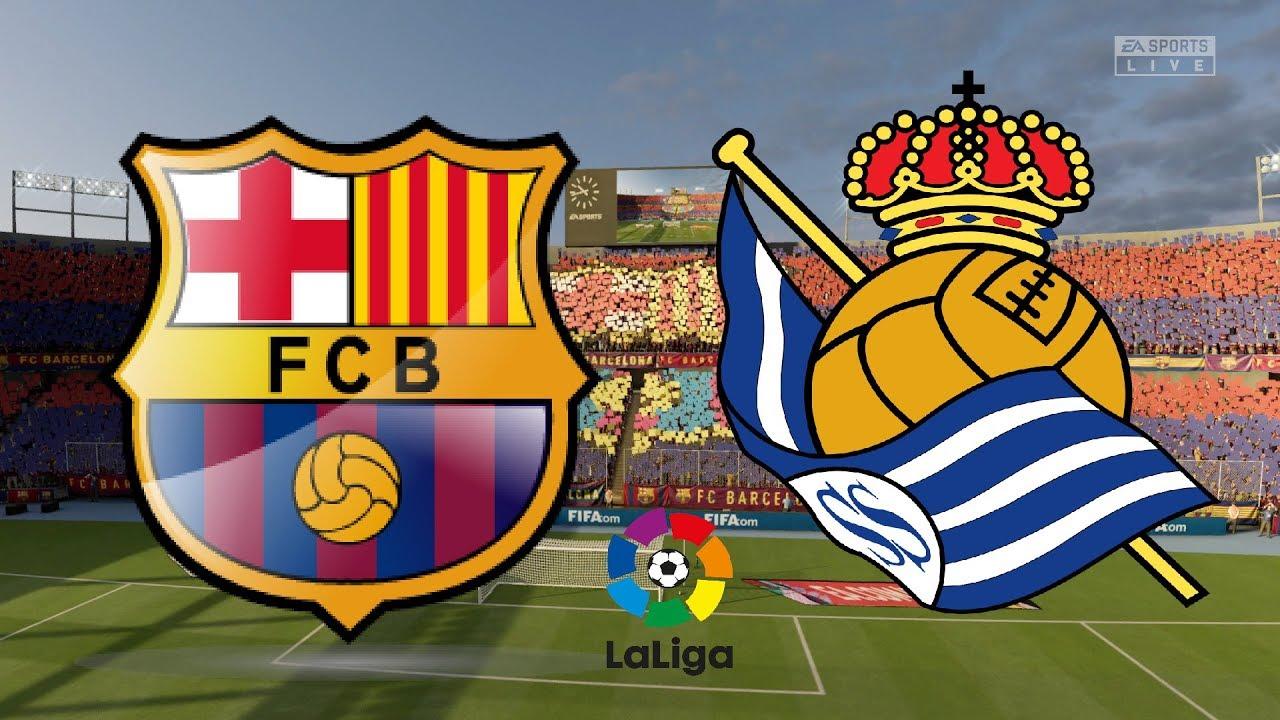 La Liga 2019/20 - FC Barcelona Vs Real Sociedad - 07/03/20 ...