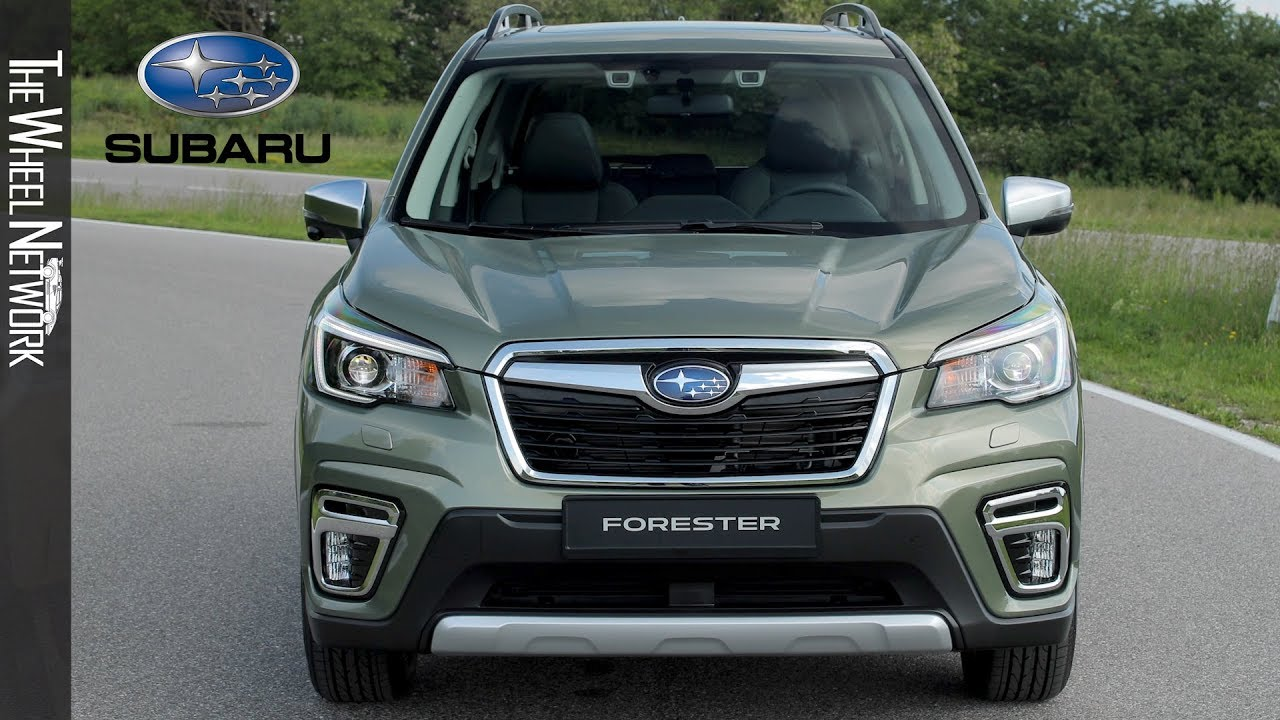 2020 Subaru Forester Turbo, STI, Hybrid >> 2020 Subaru Forester E Boxer Exterior Interior