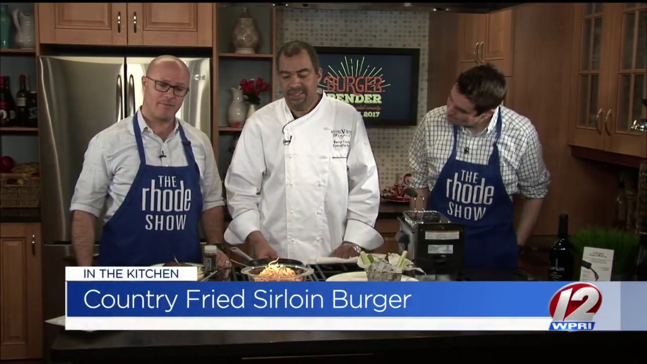 "The Kitchen Show chef barry correia is ""in the kitchen"" at the rhode show - youtube"