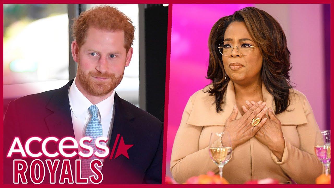 Prince Harry & Oprah Team Up For Apple TV+ Mental Health Series