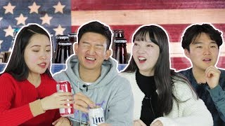Koreans Try American Beer For The First Time[Korean Bros]